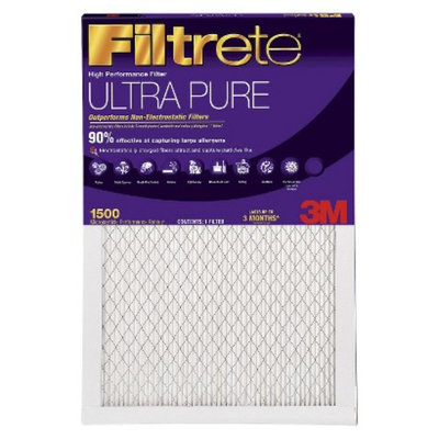 3M Filtrete Ultra Pure Electrostatic Pleated Air Filter