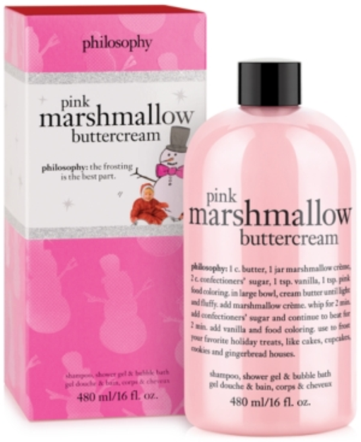 philosophy pink marshmellow buttercream shower gel, 16 fl oz