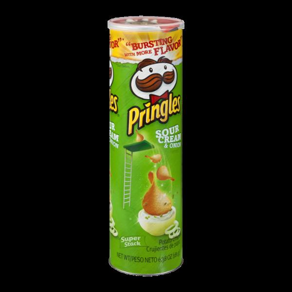 Pringles Sour Cream & Onion Potato Crisps