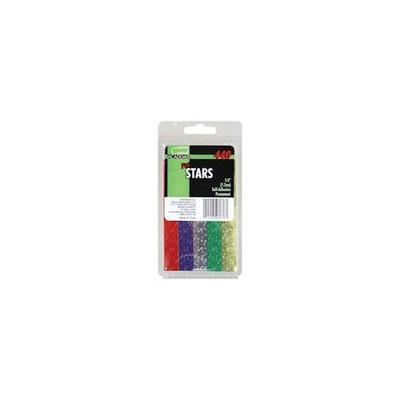 Academix Foil Star Labels, 1/2' (Case of 72)