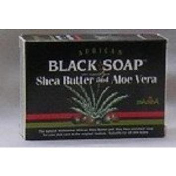 U-name-it African Formula Black Soap 3.5oz Shea Butter & Aloe Vera
