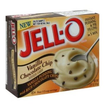 Jell-O Instant Pudding & Pie Filling Vanilla Chocolate Chip With Milk Chocolate Chips