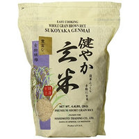 Sukoyaka Brown Rice, Genmai, 4.4-Pound