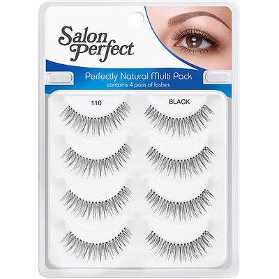 Salon Perfect Perfectly Natural Eyelashes, 110 Black, 4 pair
