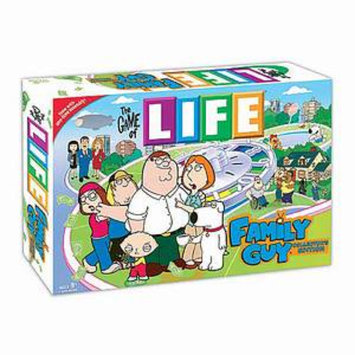 USAopoly The Game of LIFE Family Guy Collector's Edition Ages 9+