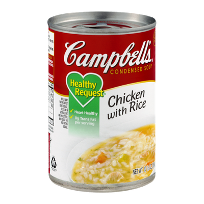 Campbell's Healthy Request Chicken with Rice Soup