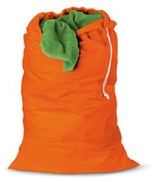 Honey Can Do (SET OF 2) Jersey cotton laundry bag - Orange