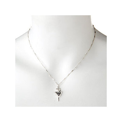 Kimberly Baker Jewelry Silver Charm Necklace