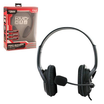 KMD Live Pro Gamer Headset with Mic for PlayStation 3 - Black, Large