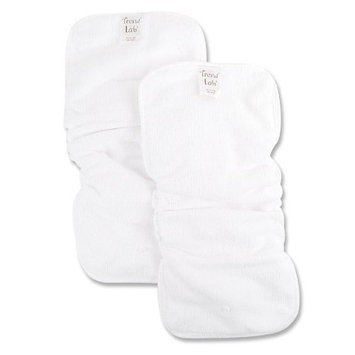 Trend Lab 2 Pack Snap In Liners For Cloth Diapers, White (Discontinued by Manufacturer)