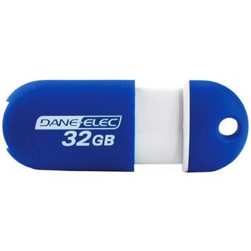 Dane-Elec 32GB Capless DA-ZMP-32G-CA-A1-R USB 2.0 Flash Drive