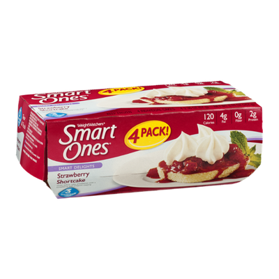 Weight Watchers Smart Ones Smart Delights Strawberry Shortcake - 4 CT