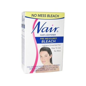Nair Pre Measured Bleach Lightening Effects