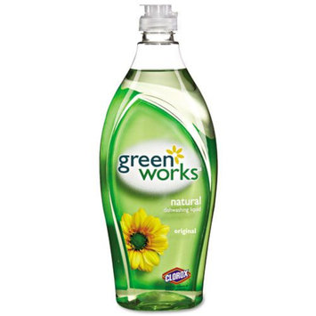 Clorox Natural Dishwashing Liquid Original, 22 oz