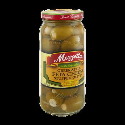 Mezzetta Greek-Style Feta Cheese Stuffed Olives