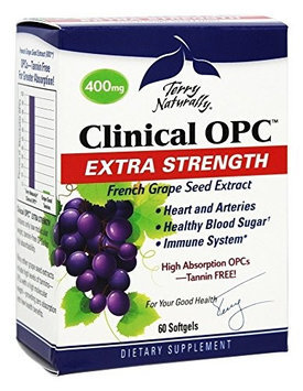 Europharma Terry Naturally Clinical OPC Extra Strength EuroPharma (Terry Naturally) 60 Softgel