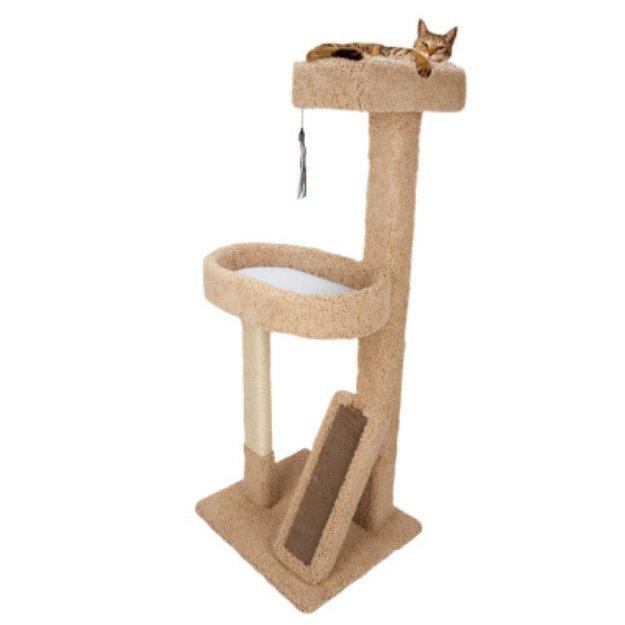 Whisker CityA Lounge Cat Scratcher