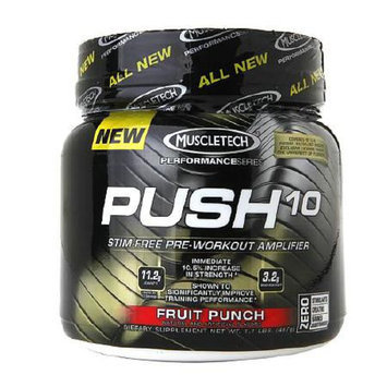 Muscletech Push10 Pre-Workout Amplifier Fruit Punch