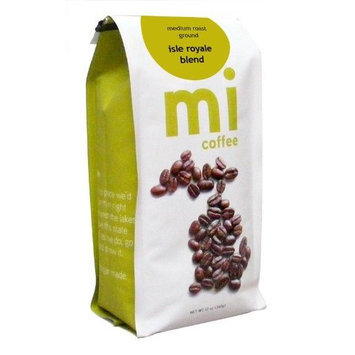 mi Isle Royale Blend Ground Coffee, 12-Ounce Bags (Pack of 3)