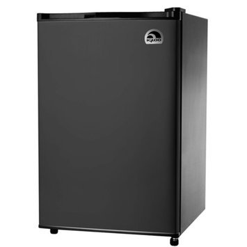 Igloo 4.6 cu. ft. Refrigerator and Freezer, Black, FR464