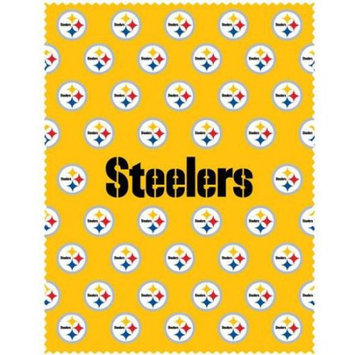 Siskiyou Sports FICC160 Steelers iPad Microfiber Cleaning Cloth
