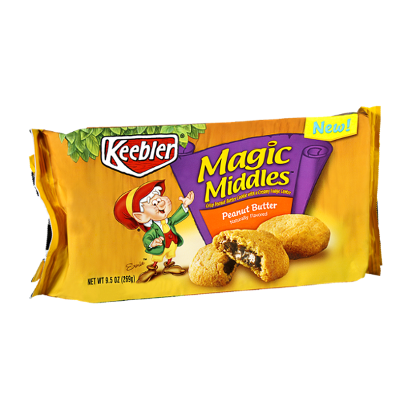 Keebler Magic Middles Peanut Butter Cookies