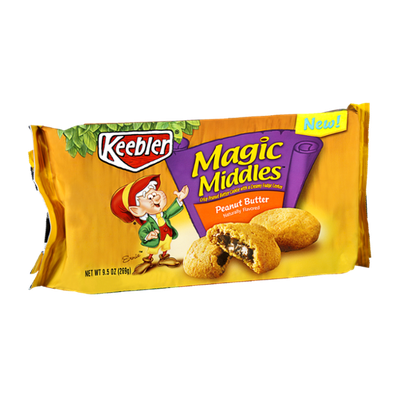 Keebler Magic Middles Peanut Butter Cookies