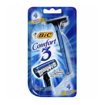 BIC Comfort 3 Shaver For Men Sensitive Skin
