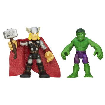Playskool Heroes Marvel Super Hero Adventures Spider Man and Rhino Figures - HASBRO, INC.