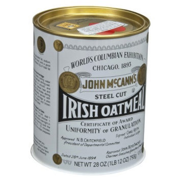 World Finer Foods McCann's Steel Cut Irish Oatmeal 28 oz