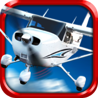 Play With Friends Games 3D Stunt Plane Flying Parking Simulator Game