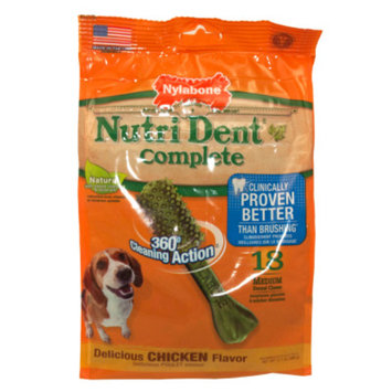 Nylabone NutriDent Complete Medium Dental Dog Chews