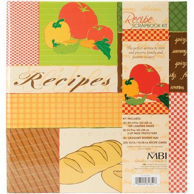 Mbi 881851 Recipes 3-Ring Scrapbook Kit