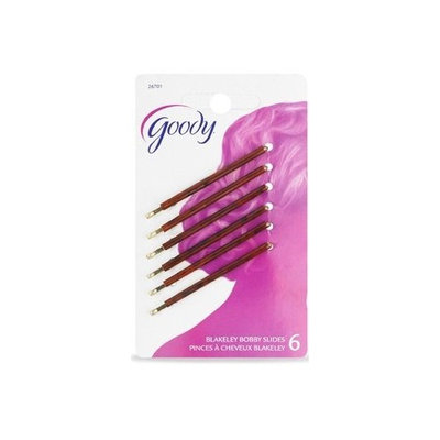 Goody Womens Classic Decorative Bobby Pin 6 Count Color May Very Item #26701