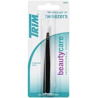 Trim Beauty Care Deluxe Slant Tip Tweezers