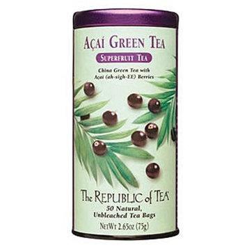 The Republic of Tea, Acai Green Tea, 50-Count