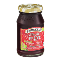 Smucker's Simply Fruit Red Raspberry Spreadable Fruit Seedless