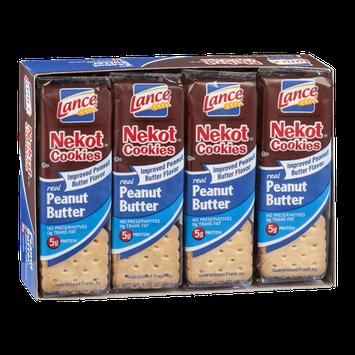 Lance Nekot Cookies Peanut Butter - 8 CT