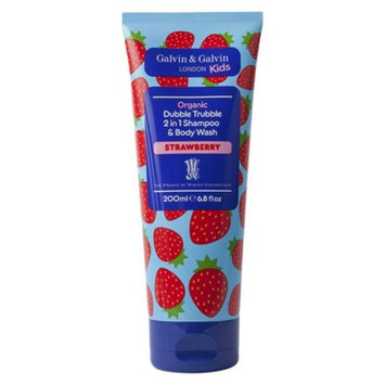 Dubble Trubble Strawberry 2 in 1 Shampoo & Body Wash - 6.8 fl oz