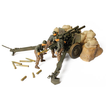 Unimax Toys Limited Unimax Forces of Valor -M2A1 Howitzer 1:32 Scale