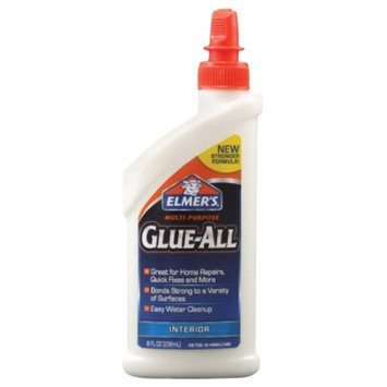 Elmers 8oz Clear Multi-Purpose Glue All Adhesive (E3820)