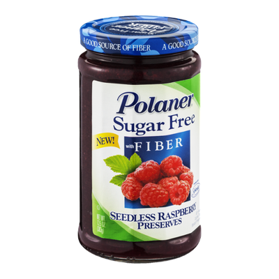 Polaner Seedless Raspberry Preserves Sugar Free with Fiber