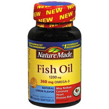 Nature Made Fish Oil 1200mg + Vitamin D 1000 IU