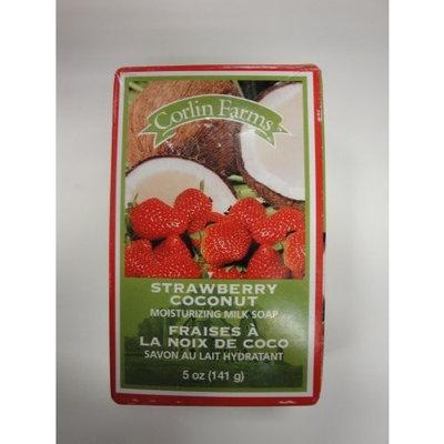 Corlin Farms Strawberry Coconut Moisturizing Milk Soap 5 oz