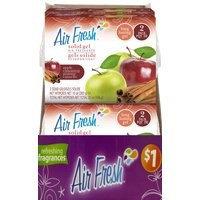 Flp,llc Air Freshener Gel-Apple Cin - Pack of 6