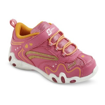 S SPORT BY SKECHERS Toddler Girl's Pink Teardrop Sneaker