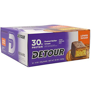 Detour Lower Sugar Bars - Peanut Butter Cream