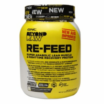 Beyond Raw GNC Beyond RAW RE-FEED - Vanilla Cake Batter