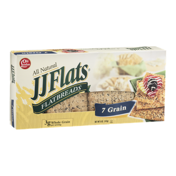 Old London JJ Flats Flatbreads 7 Grain