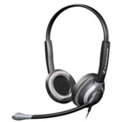 Sennheiser Electronic Binaural Headset with XL Ear Cap